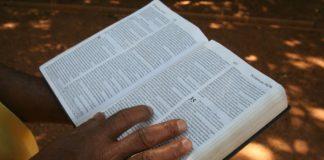 Lendo a Bíblia