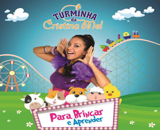 Cristina Mel cd infantil Para Brincar e Aprender-2017