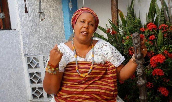 Jaciara Ribeiro, mãe de santo na Bahia