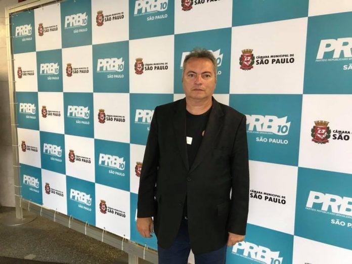 Vereador de Jundiaí (SP) Roberto Conde Andrade (PRB)