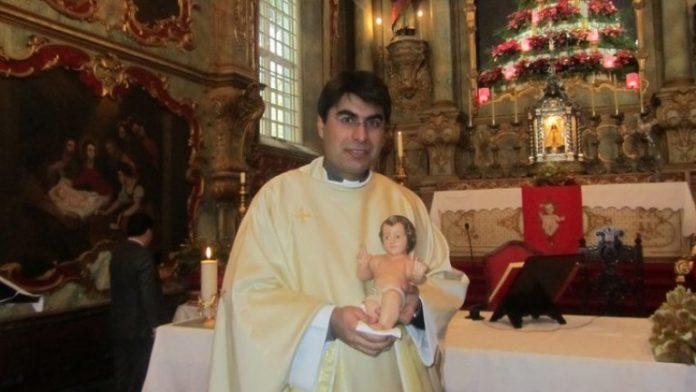 Giselo Andrade, padre que assumiu paternidade, em Portugal