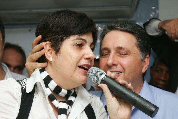 Anthony Garotinho e sua mulher, Rosinha Garotinho.