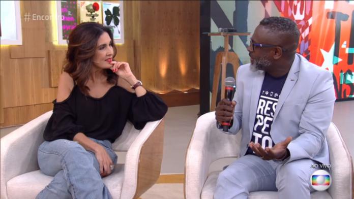 Kleber Lucas no programa Encontro da Rede Globo
