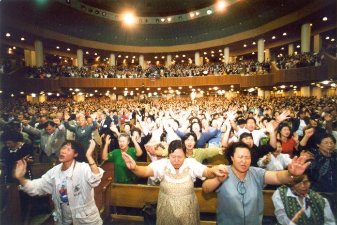 Cristãos na Coreia do Sul