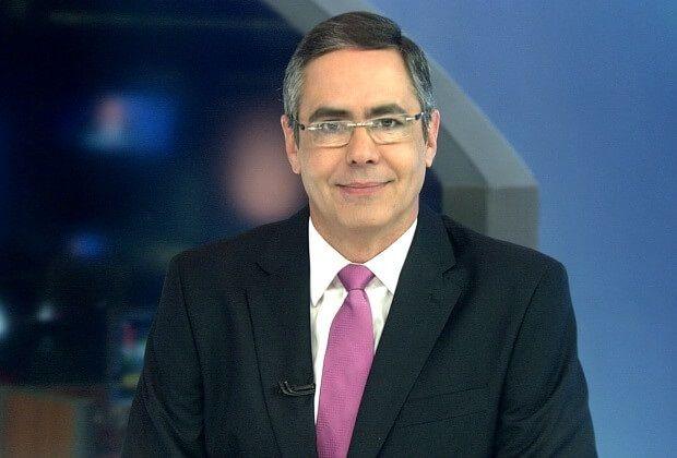 Fabio Pannunzio é jornalista da Band TV
