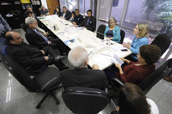 Reunião do CONIC com parlamentares no Senado Federal