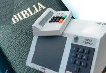 Urna eletrônica e a Bíblia