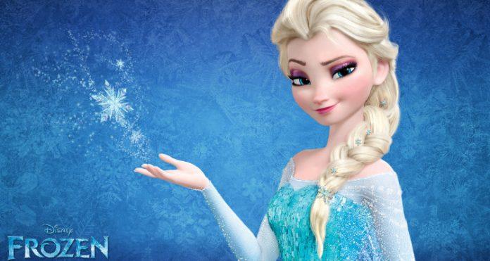 Rainha Elsa, personagem do filme animado da Disney