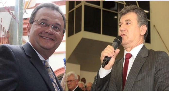 Pastor Samuel Câmara, presidente da CADB e pastor José Wellington Junior, presidente da CGADB