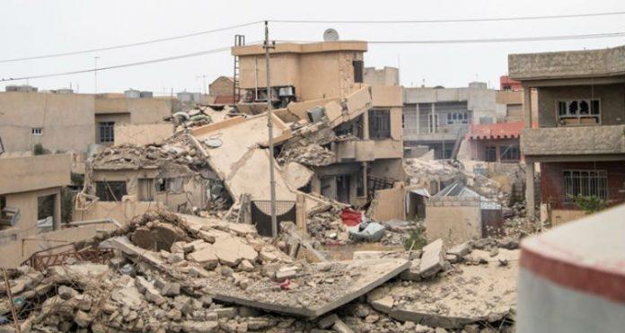 Destruição no Iraque