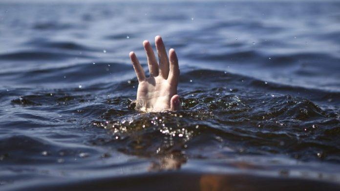 Pessoa se afogando