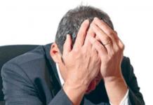 Ilustração de pastor com depressão e exausto