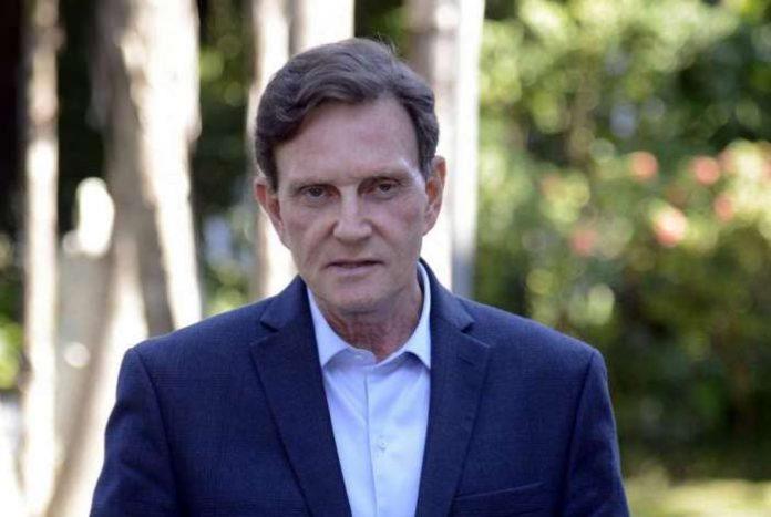 Marcelo Crivella, bispo licenciado da Igreja Universal e atual prefeito do Rio de Janeiro