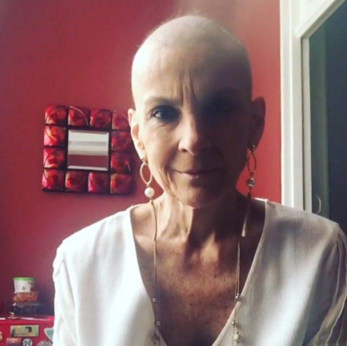 Ludmila Ferber revela queda de cabelo após quimioterapia para combater câncer de pulmão