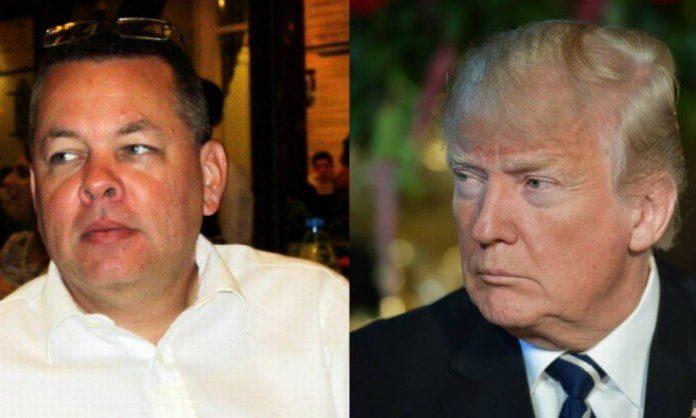 Pastor Andrew Brunson, preso na Turquia, recebe apoio do Presidente dos EUA, Donald Trump
