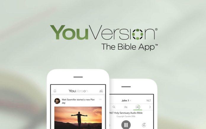 YouVersion, aplicativo da Bíblia
