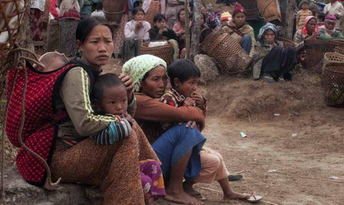 Cristãos da etnia Kachin estão sofrendo genocídio em Mianmar. (Foto: Portas Abertas - EUA)