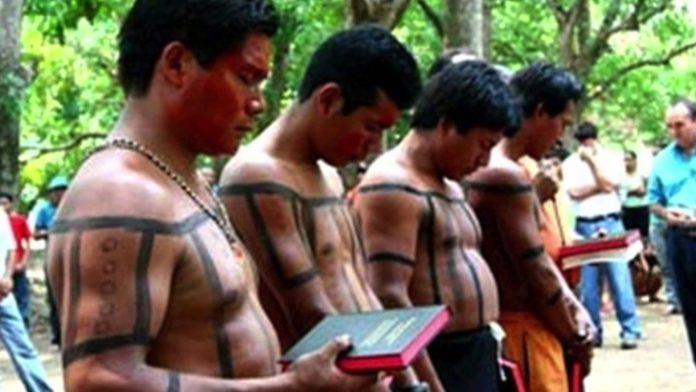 Índios cristãos