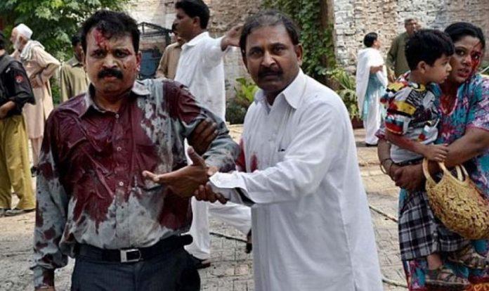 Cristão ferido no Paquistão
