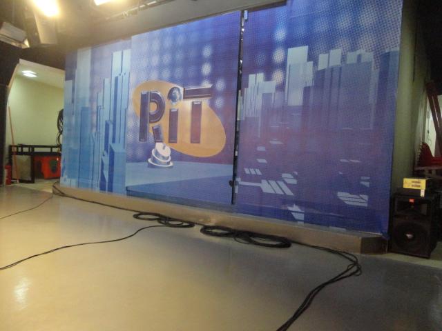 Cenário da RIT TV