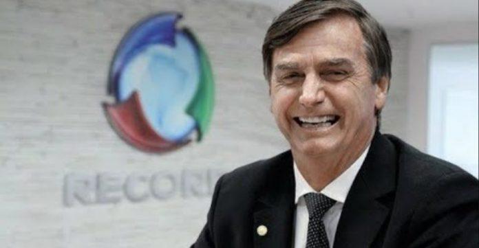 Bolsonaro na Record TV
