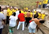 Cerca de 30 evangélicos ocupam área do Cemitério de Maruí, onde adeptos de Umbanda e Candomblé participavam de culto