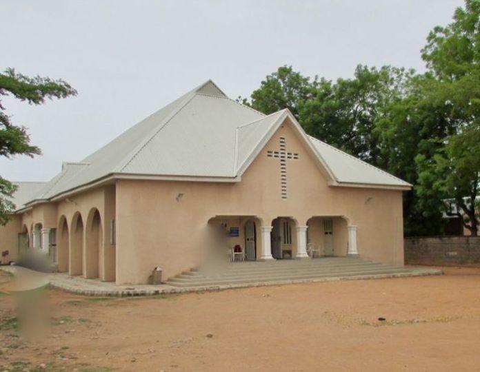 Igreja na Nigéria (Foto: Portas Abertas)