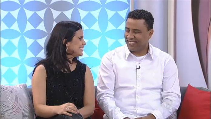 Aline Barros e Gilmar Santos estão casados há 18 anos