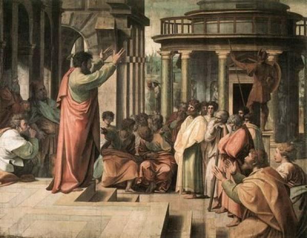 Os primeiros cristãos (ilustração)