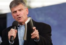 Franklin Graham, evangelista americano, filho do saudoso Billy Graham