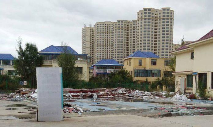 O Seminário Internacional de Endao foi destruído pelo Partido Comunista Chinês. (Foto: Reprodução/Bitter Winter)