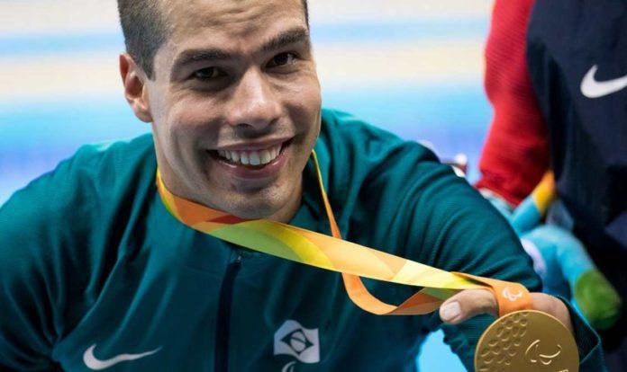 Campeão paralímpico Daniel Dias
