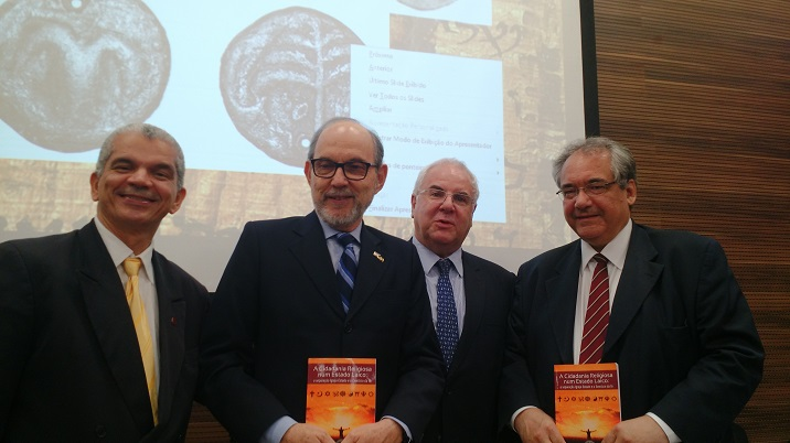 Gilberto Garcia nos 70 anos do Estado Israel no TRF2
