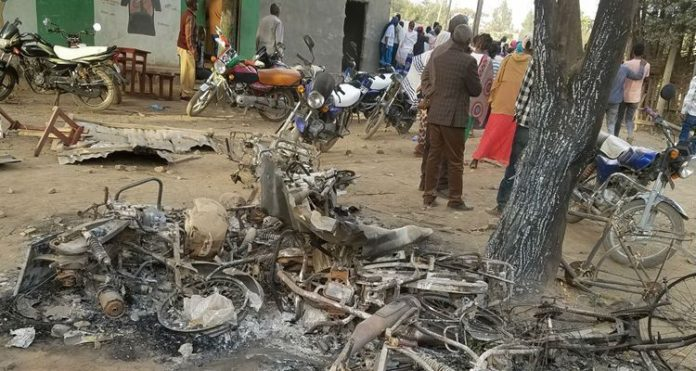 Multidão de muçulmanos destruiu igrejas e seus pertences na Etiópia