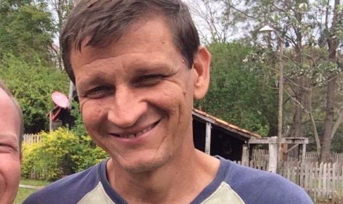 Missionário Wayne Goddard é executado em aldeia indígena, no Paraguai. (Foto: Reprodução/Departamento de Canindeyú)