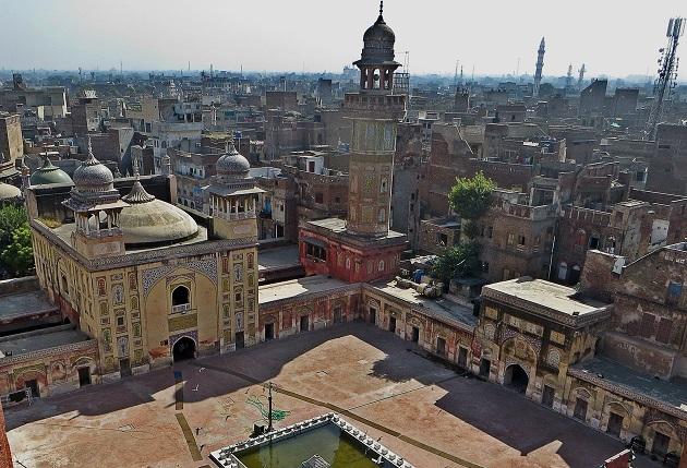 Mesquita em Lahore, Paquistão.