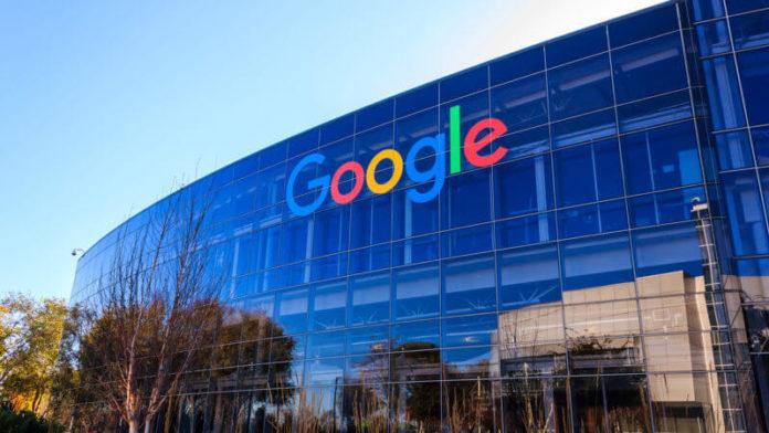 Escritório da empresa Google