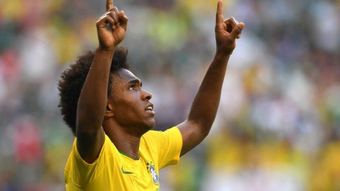 William, jogador do Chelsea e da seleção brasileira