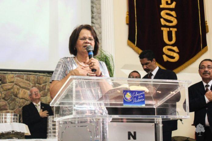 A pastora Dulce dos Anjos Gomes, de 63 anos, da Igreja Nova Vida de Alcântara, faleceu por complicações de uma parada cardíaca.