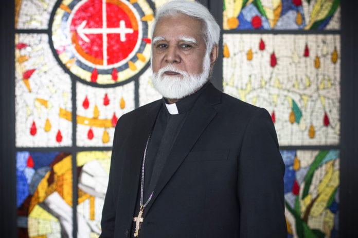 Cardeal Joseph Coutts, é arcebispo de Karachi, no Paquistão (Foto: Heitor Feitosa/VEJA.com)