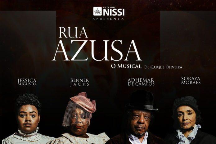 Cartaz do Musical Rua Azusa