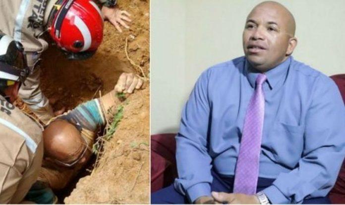 O pedreiro Gilberto Cordeiro ficou soterrado e clamou por Jesus