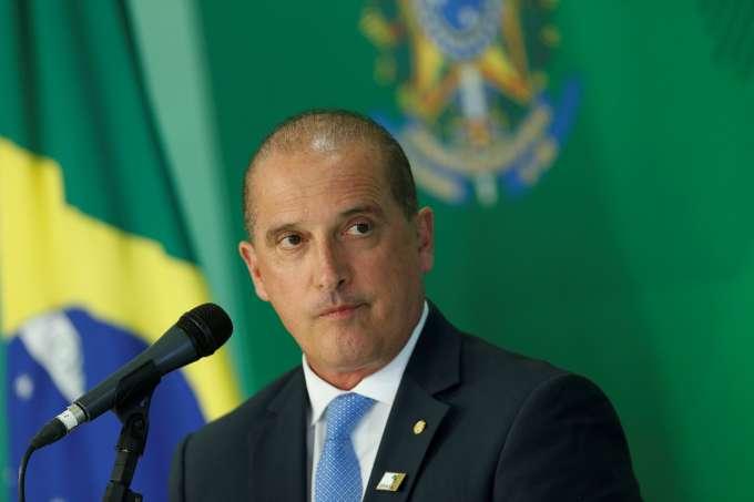 Onyx Lorenzoni, ministro-chefe da Casa Civil.