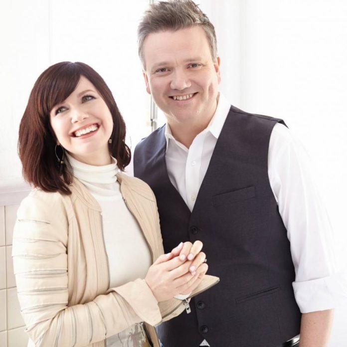 O casal Krystin e Keith Getty