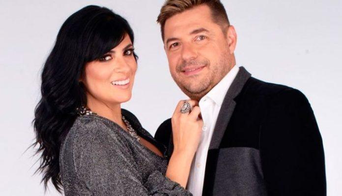 A cantora Fernanda Brum e seu esposo Emerson Pinheiro