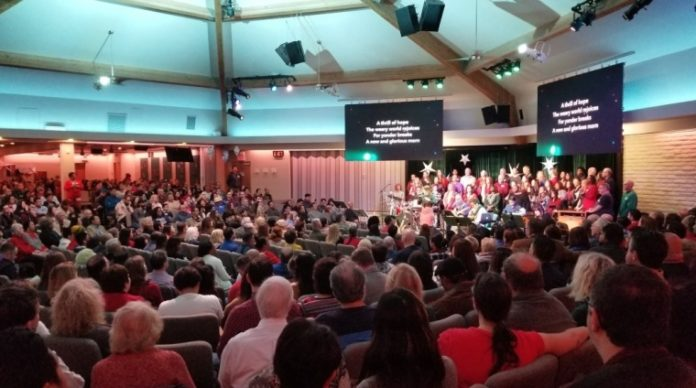 Igreja da Assembleia Cristã, em Los Angeles, Califórnia. (Foto: Facebook / Igreja Assembleia Cristã)