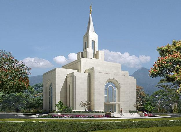 Templo de uma Igreja Mórmon