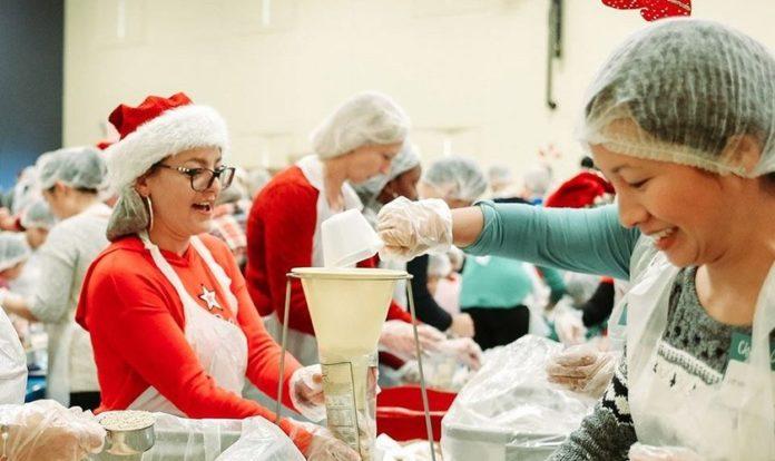 Cerca de 6.100 voluntários irão se envolver no preparo das refeições. (Foto: Liquid Church)
