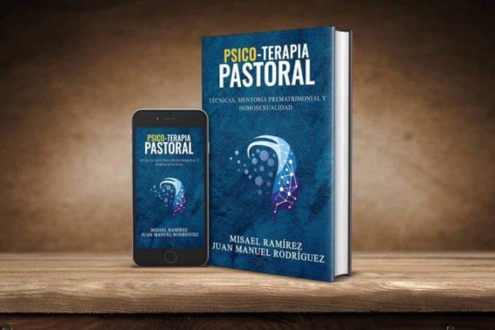 Exemplar do livro Psicoterapia Pastoral, dos autores cristãos Juan Manuel Rodríguez e Misael Ramírez.