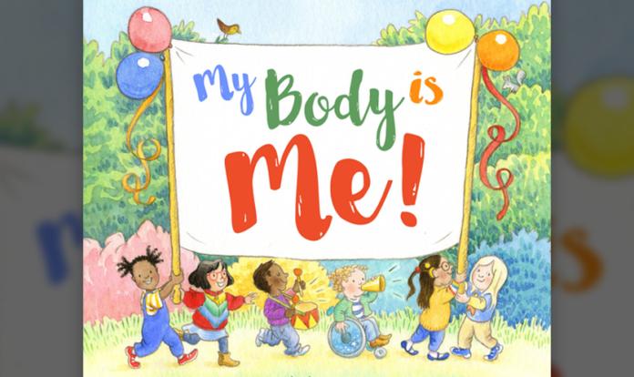 """Capa do livro infantil """"Meu corpo sou eu!"""". (Foto: Reprodução/Rachel Rooney/Jessica Ahlberg)"""